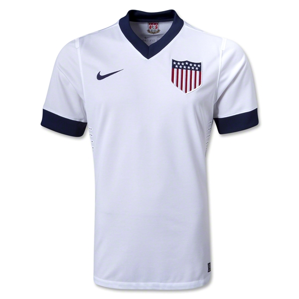USA 2013 Authentic Centennial Soccer Jersey