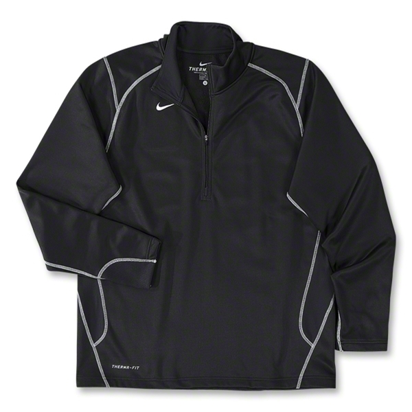 Nike 1/4 Zip Performance Fleece Top (Black)