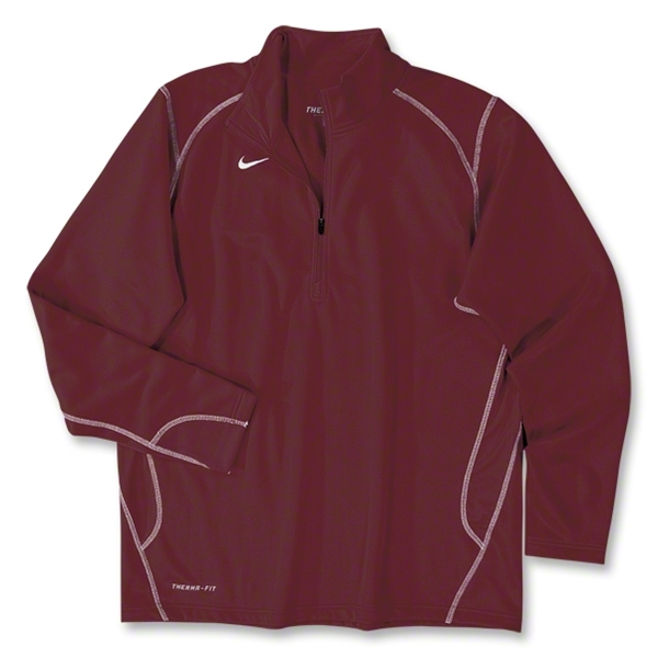 Nike 1/4 Zip Performance Fleece Top (Cardinal)