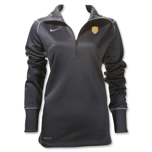 StandUp Nike Women's 1/4 Zip Thermal Top (Dark Gray)