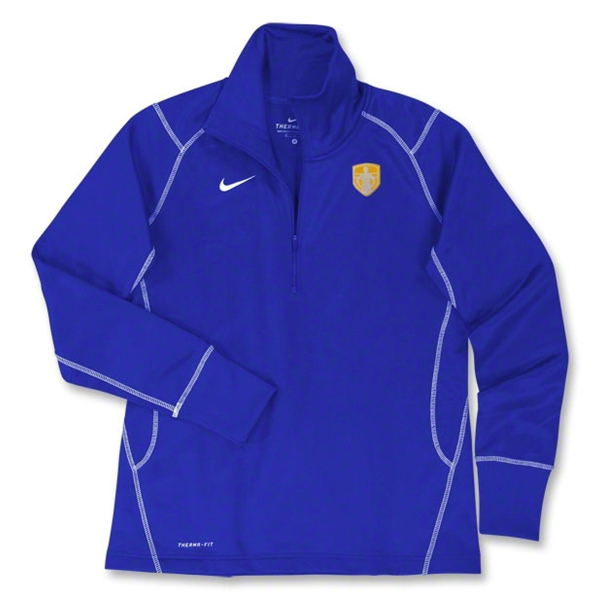 StandUp Nike Women's 1/4 Zip Thermal Top (Royal)