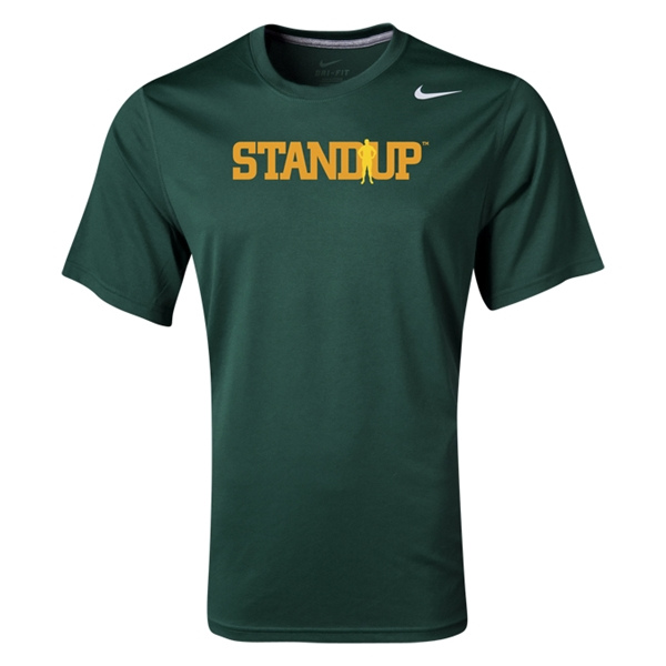 StandUp Nike Legend Poly Top (Dark Green)