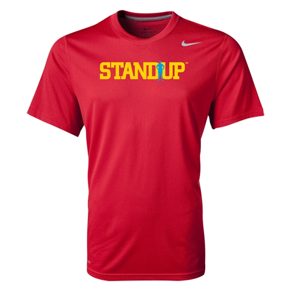 StandUp Nike Legend Poly Top (Red)