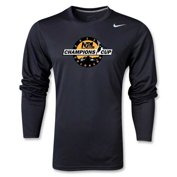 NPL Champions Cup 2013 LS Poly Top (Black)