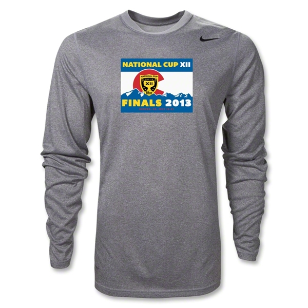National Cup Finals 2013 LS Poly T-Shirt (Gray)