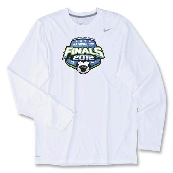 US Club Soccer Final LS Poly Top (White)