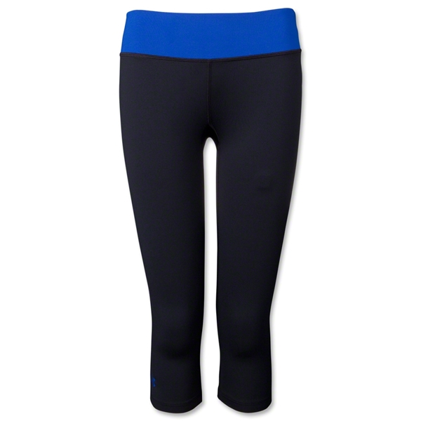 Under Armour Women's Sonic Capri (Blk/Royal)