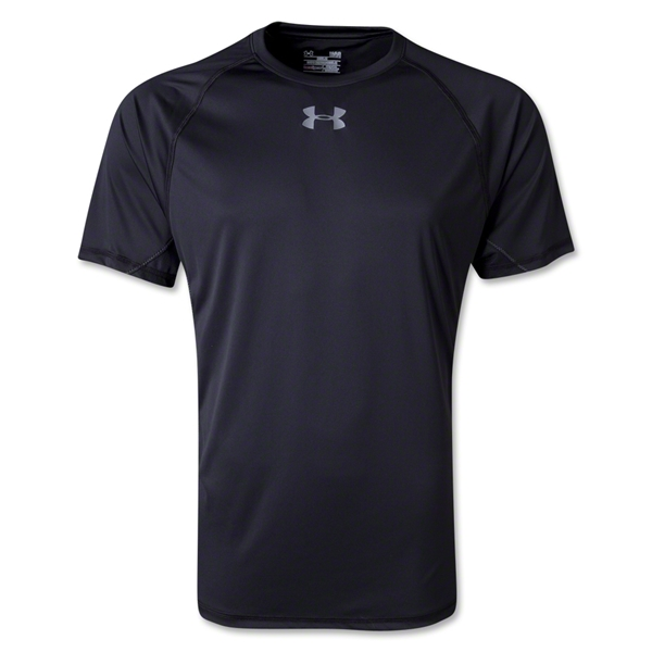 Under Armour HeatGear Flyweight T-Shirt (Black)
