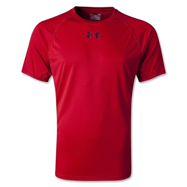 Under Armour HeatGear Flyweight T-Shirt (Red)