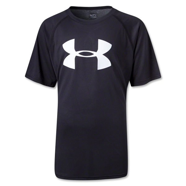 Under Armour Youth Big Logo T-Shirt (Black)