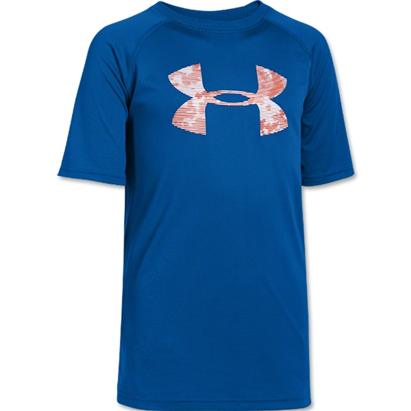 Under Armour Youth Big Logo T-Shirt (Ro/Sc)