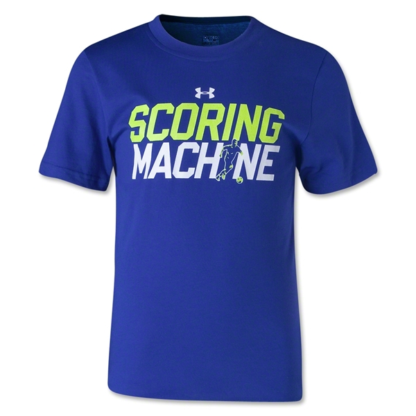 Under Armour Youth Scoring Machine T-Shirt (Roy/Yel)
