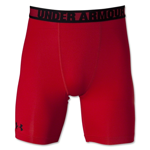 Under Armour HeatGear Sonic Compression Short (Red/Blk)