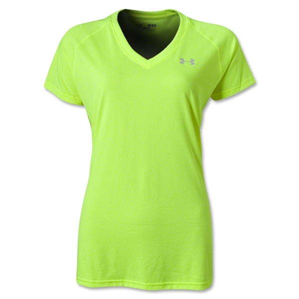 Under Armour Women's Tech T-Shirt (Neon Green)