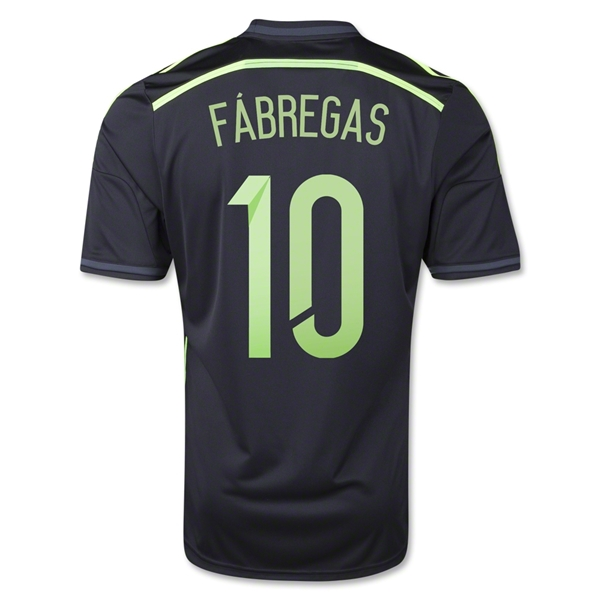 Spain 2014 FABREGAS Away Soccer Jersey