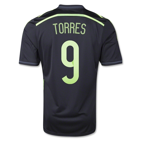 Spain 2014 TORRES Away Soccer Jersey