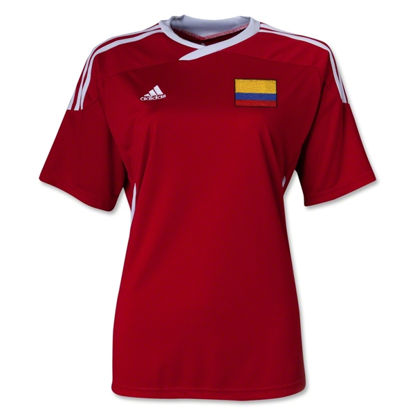 Colombia Tiro II Women's Soccer Jersey (Red)