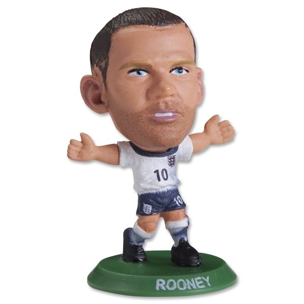 England Rooney Mini Figurine