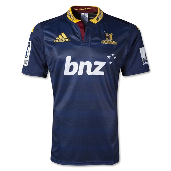 Highlanders 2014 Home SS Rugby Jersey
