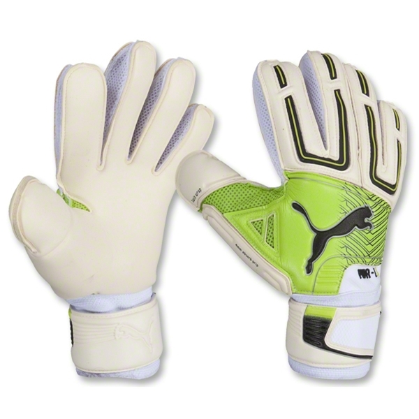PUMA Powercat 1.12 Grip Glove (White)