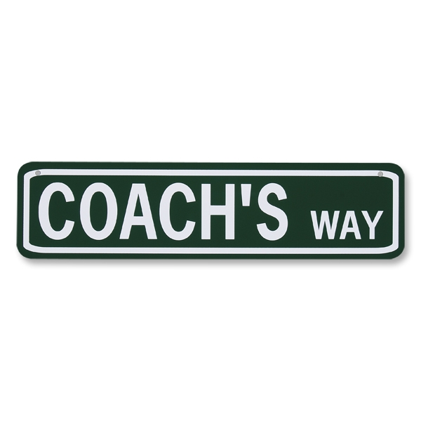 Coach's Way Sign