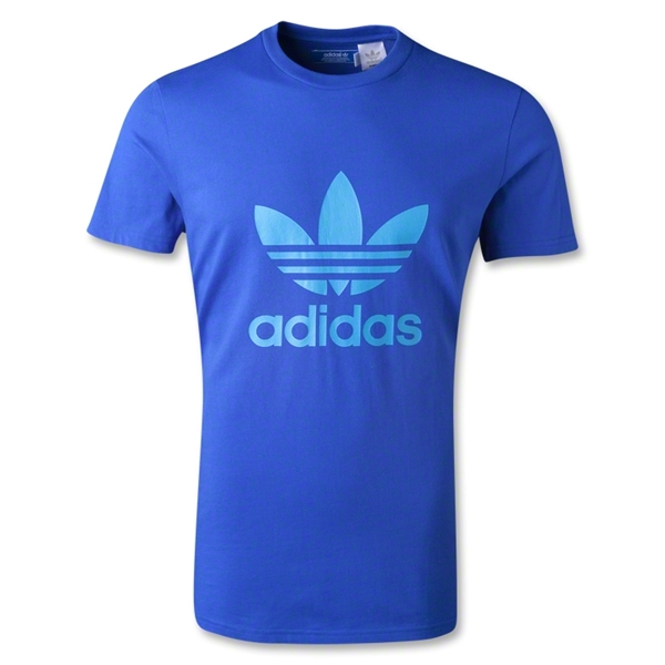 adidas Originals adi Trefoil T-Shirt (Royal)