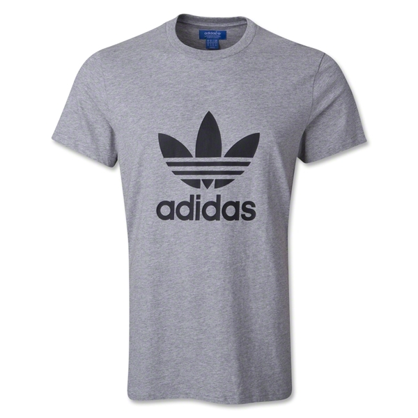 adidas Originals Trefoil T-Shirt (Gray)