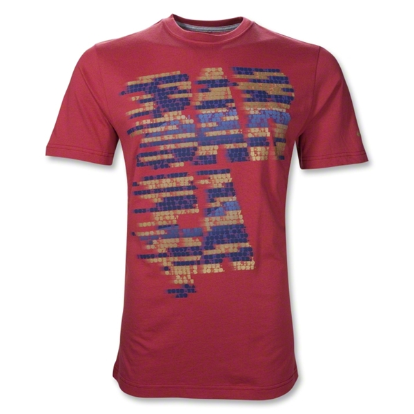 Barcelona Core Graphic T-Shirt (Red)