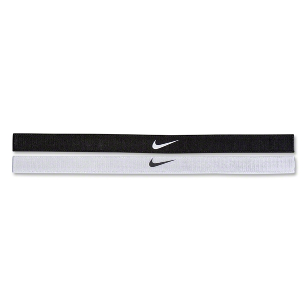 Nike Adjustable Headband (Blk/Wht)