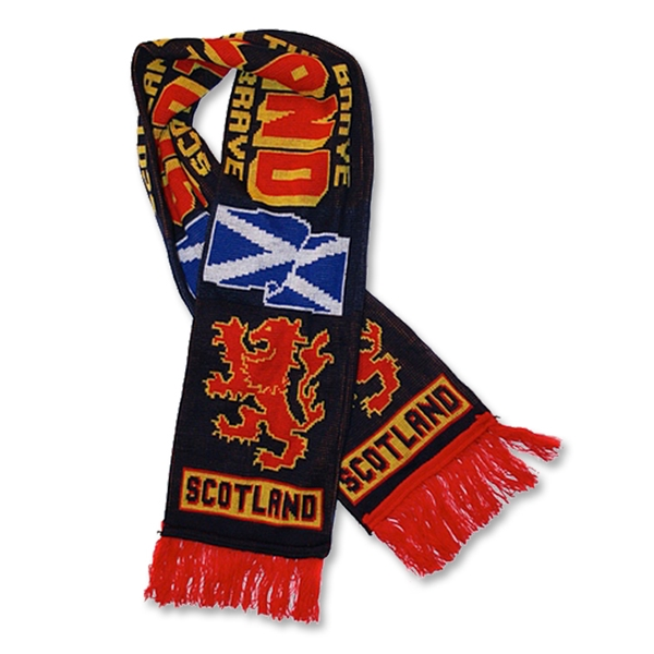 Scotland (Lion Ramp) Scarf