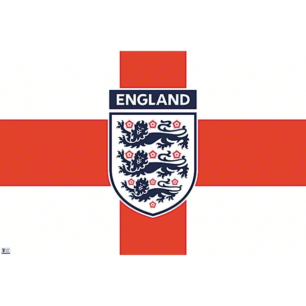 England Set of Two Posters