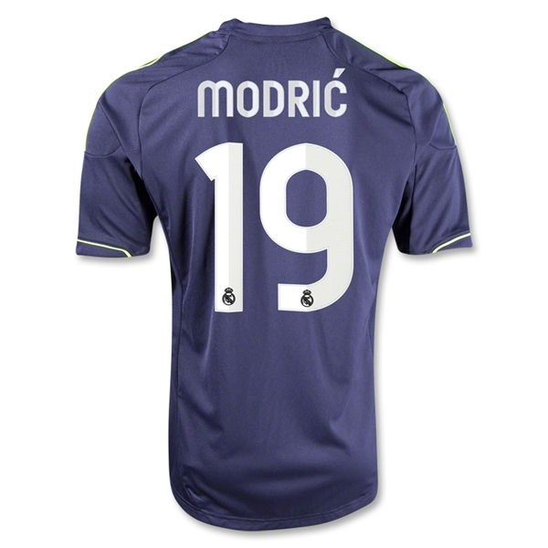 Real Madrid 12/13 MODRIC Youth Away Soccer Jersey