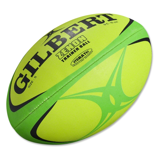 Gilbert Zenon Training Rugby Ball (Fluro)