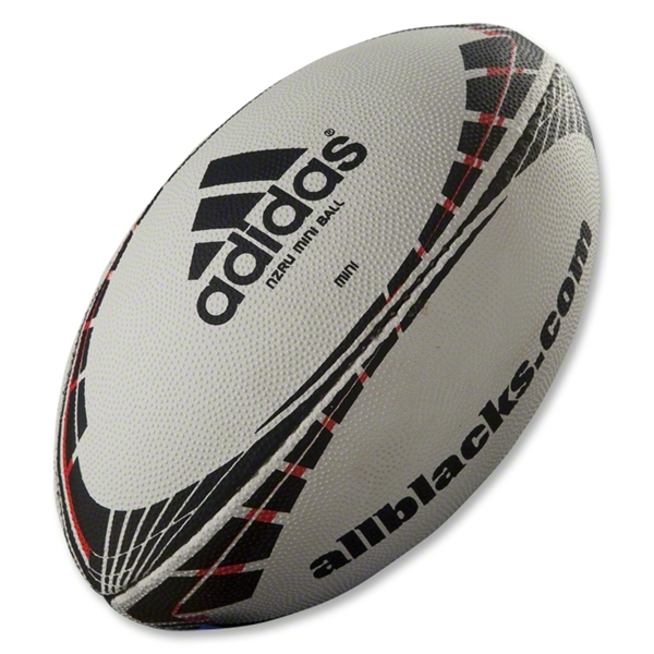 adidas All Blacks Fern Mini Rugby Ball