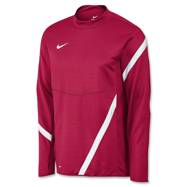 Nike Comp 12 Midlayer Top (Cardinal)