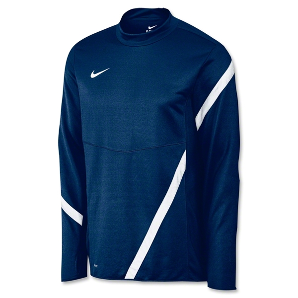 Nike Comp 12 Midlayer Top (Navy/White)