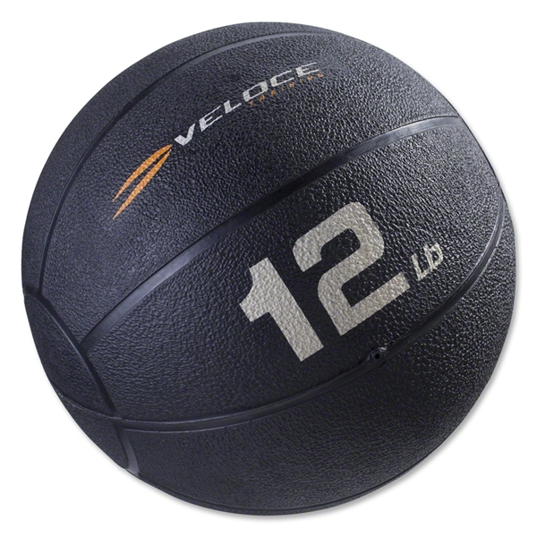 Veloce 12 lb Medicine Ball w/ Handle