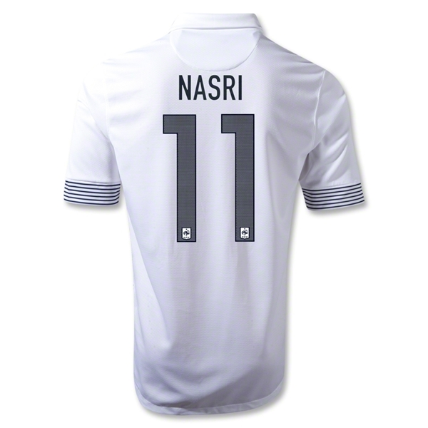 France 12/13 NASRI Away Soccer Jersey