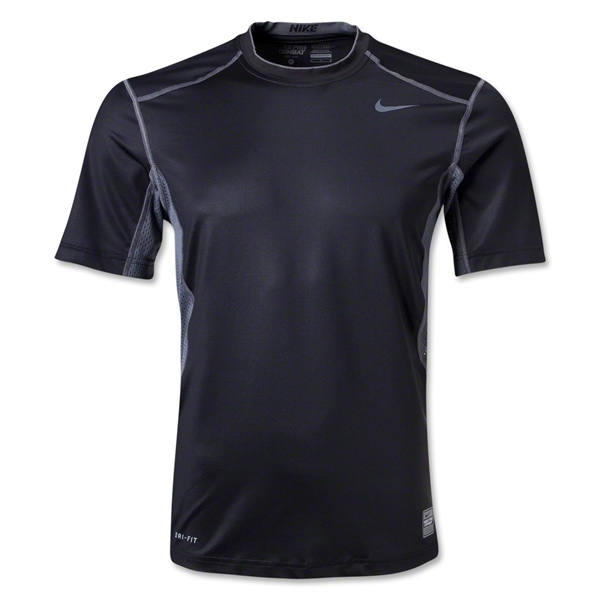 Nike Hypercool Fitted Top 2.0 T-Shirt (Blk/Grey)
