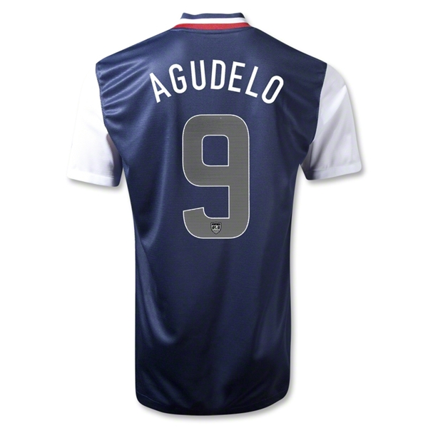 USA 12/13 AGUDELO Away Soccer Jersey