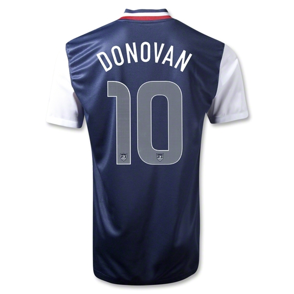 USA 12/13 DONOVAN Away Soccer Jersey