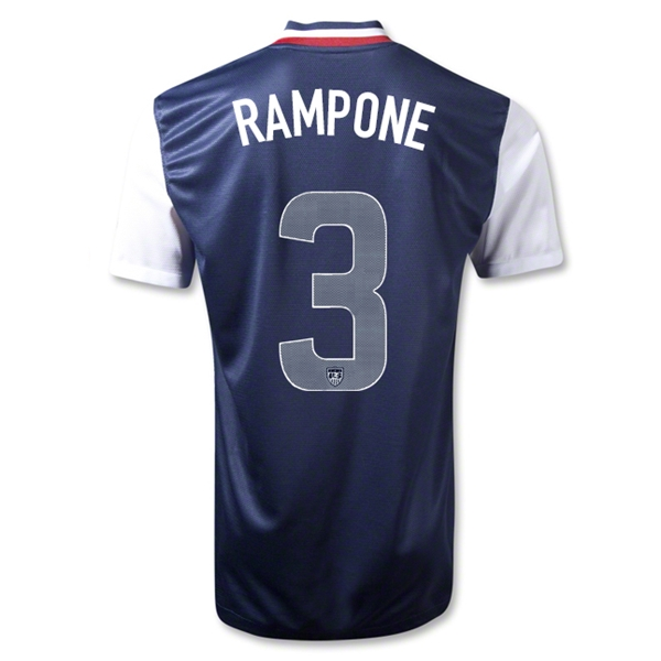 USA 12/13 RAMPONE Away Soccer Jersey