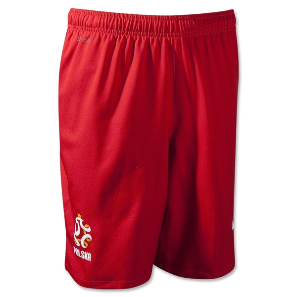 Poland 12/13 Away Soccer Shorts
