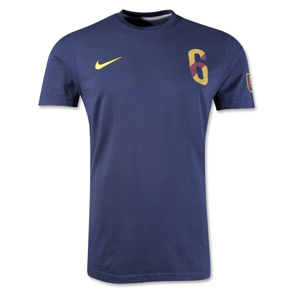 Iniesta Hero T-Shirt (Navy)