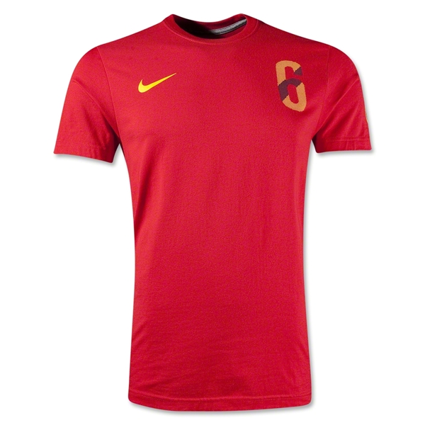 Iniesta Hero T-Shirt (Red)