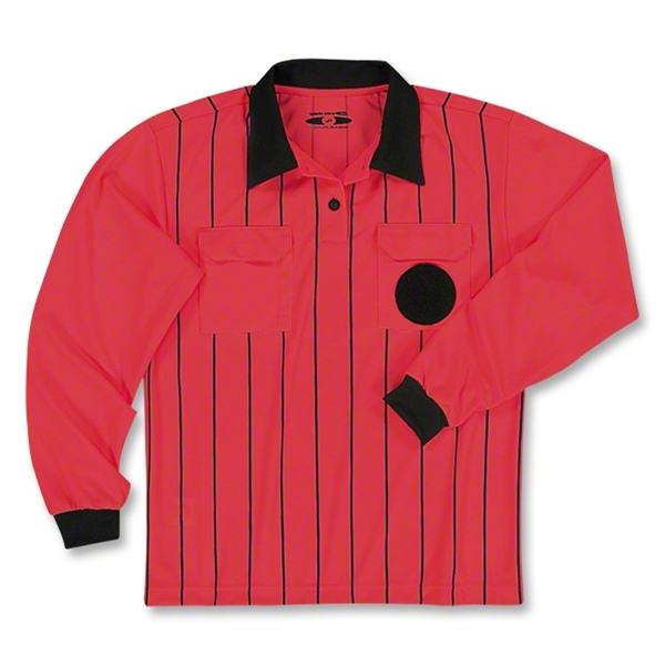 Veloce LS Referee Jersey (Red)