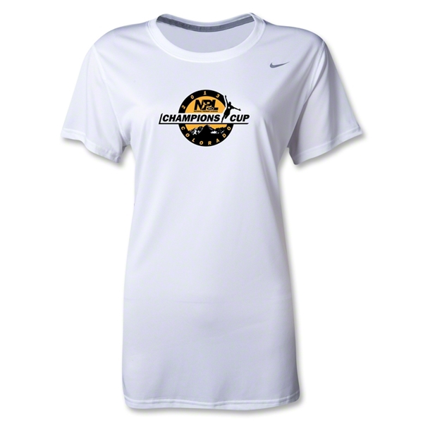 NPL Champions Cup 2013 Women's Legend T-Shirt (White)