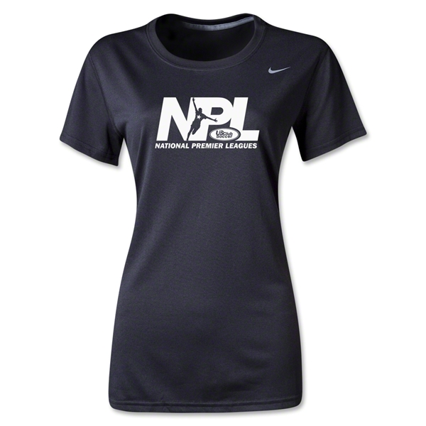 US Club Soccer NPL Women's Legend T-Shirt (Black)