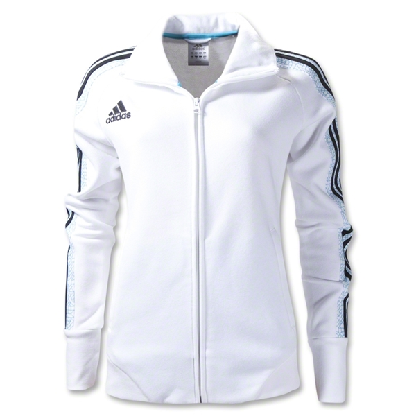 adidas Women's Graphic Jacket (Wh/Bk)