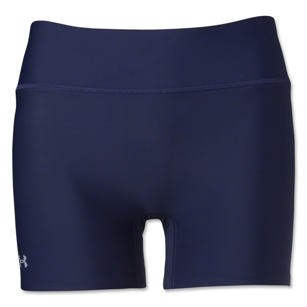Under Armour Women's Authentic 4 Compression Short (Navy)